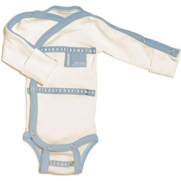 Baby Grow wraparound Denim hospital collection