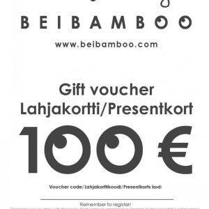 Cadeau bon d'achat 100€-0