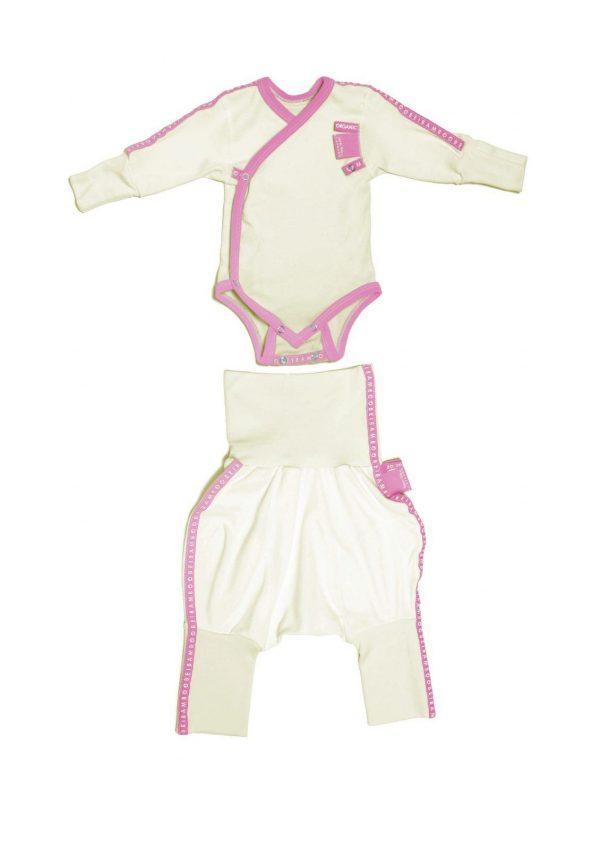 Baby clothing gift set pink