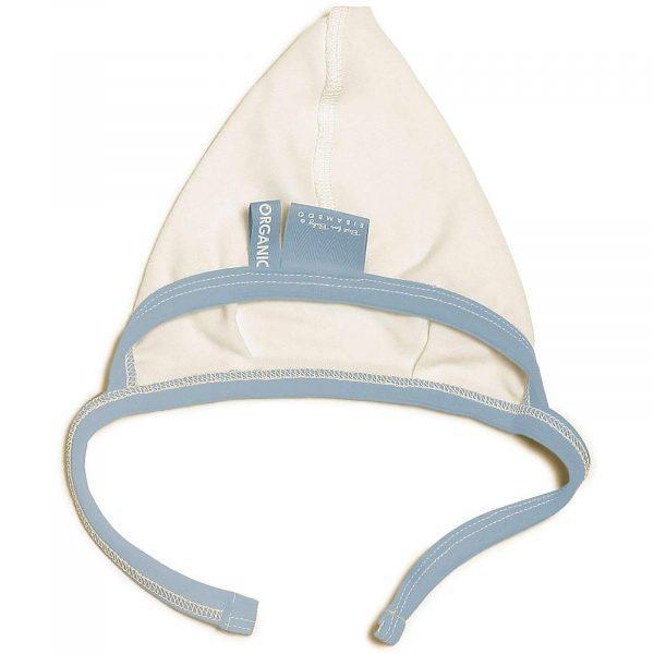 Baby Bonnet in Denim Blue colour